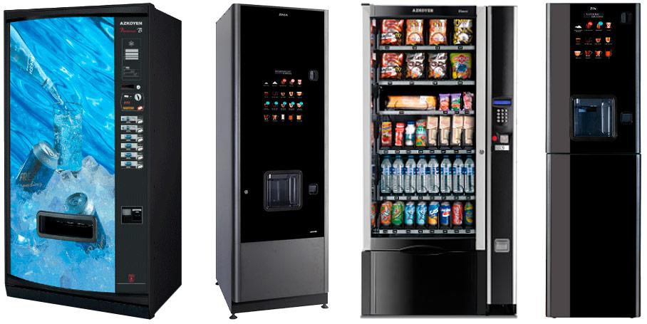 Maquinas Vending Azkoyen - Botellero - Café - Snacks