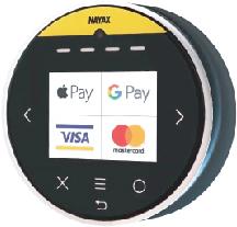 Nayax Methodos de pago Vending