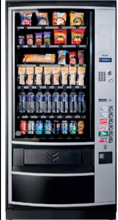 Maquina de vending Snacks extra botellas
