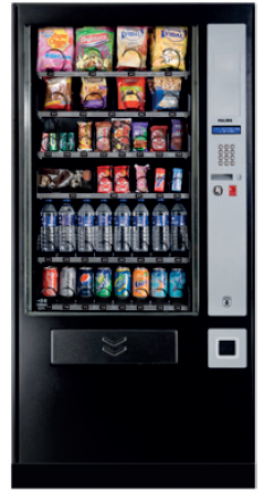 Maquina de vending snacks grande